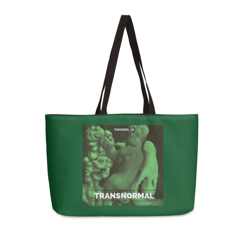 Transnormal Accessories Weekender Bag Bag by transnormal's Artist Shop