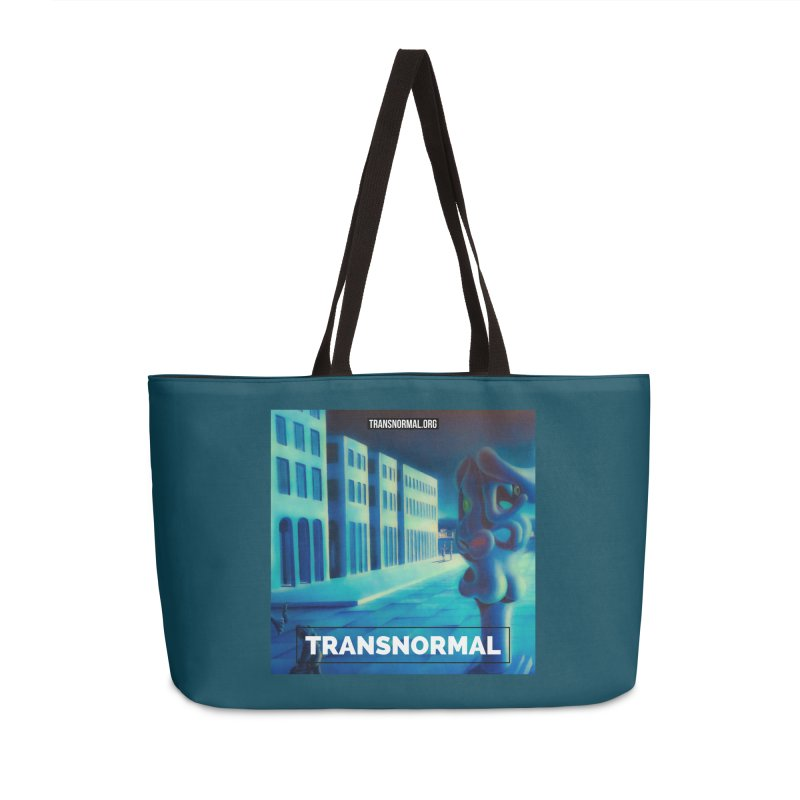 You are being watched! Accessories Weekender Bag Bag by transnormal's Artist Shop