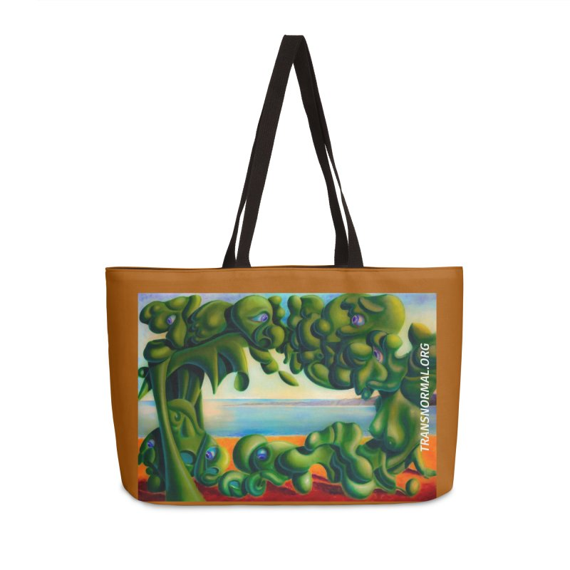 Translove Accessories Weekender Bag Bag by transnormal's Artist Shop