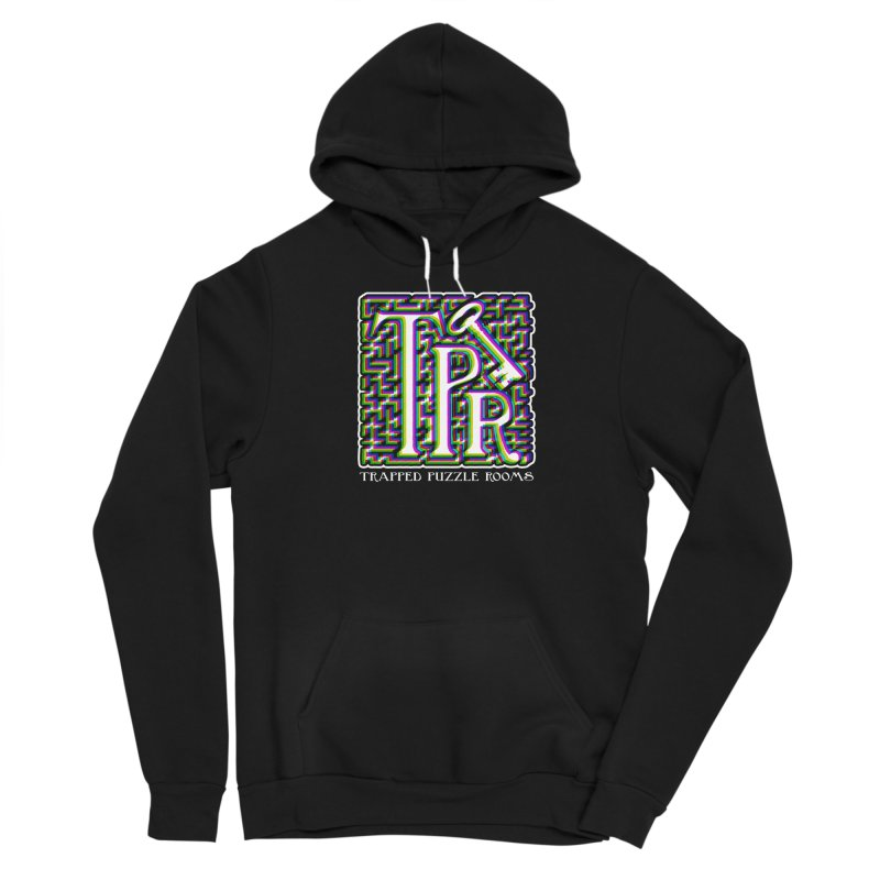 TPR Color Split Women's Pullover Hoody by Trapped Puzzle Rooms