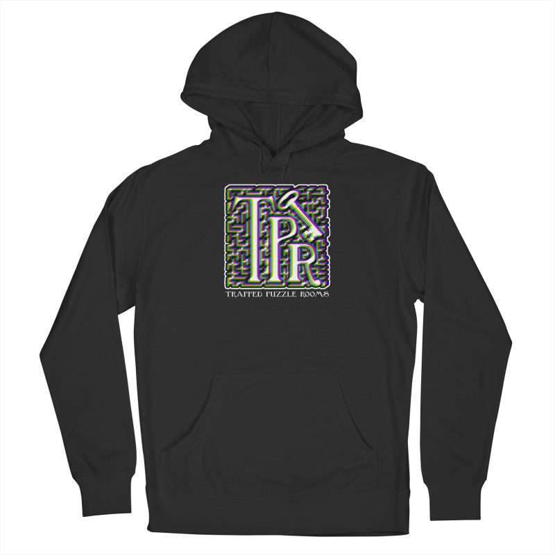 TPR Color Split Men's Pullover Hoody by Trapped Puzzle Rooms