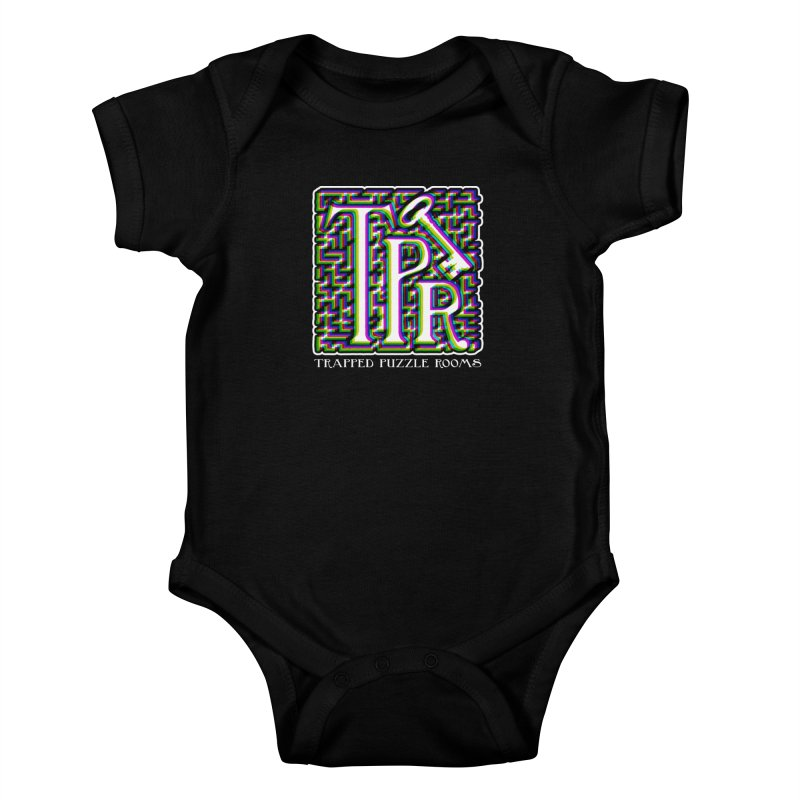 TPR Color Split Kids Baby Bodysuit by Trapped Puzzle Rooms