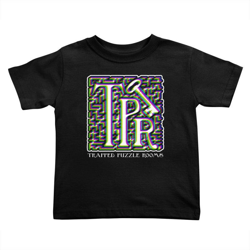 TPR Color Split Kids Toddler T-Shirt by Trapped Puzzle Rooms