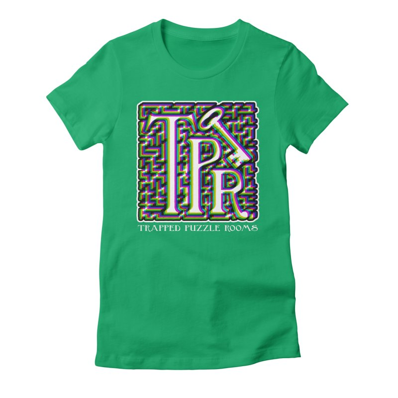 TPR Color Split Women's T-Shirt by Trapped Puzzle Rooms
