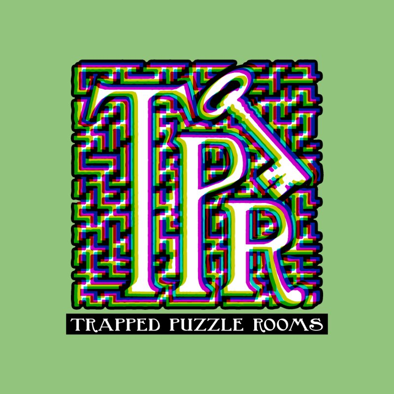 TPR Color Split on light Kids T-Shirt by Trapped Puzzle Rooms
