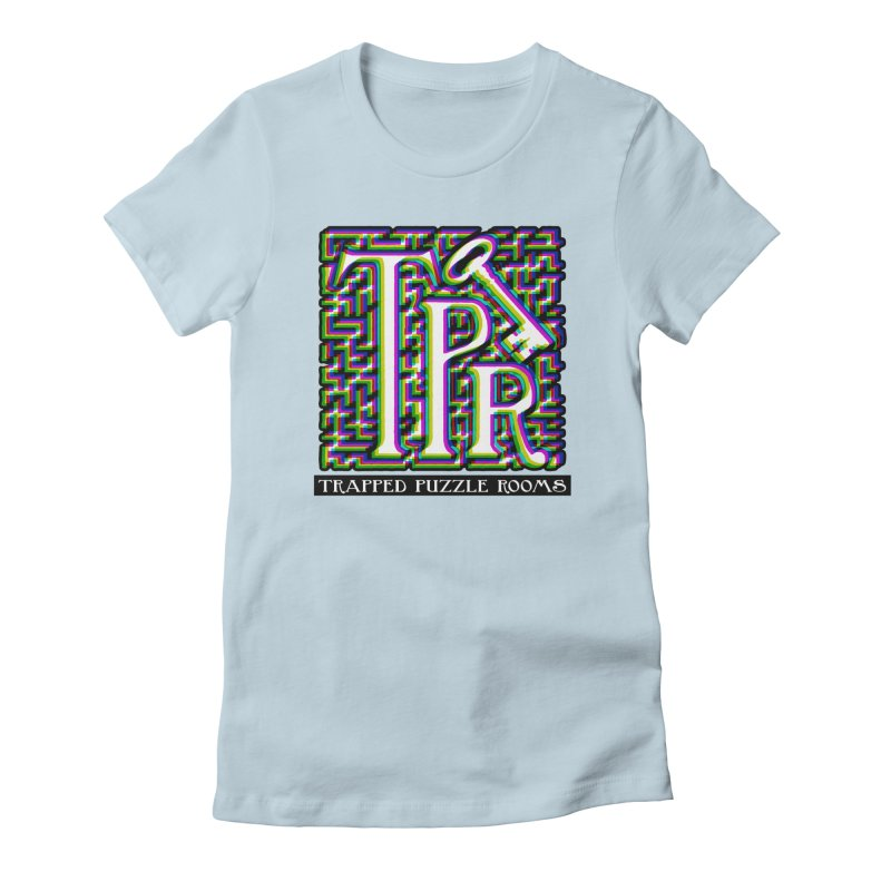 TPR Color Split on light Women's T-Shirt by Trapped Puzzle Rooms