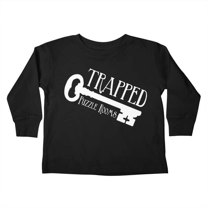 Trapped Puzzle Rooms Classic Kids Toddler Longsleeve T-Shirt by Trapped Puzzle Rooms