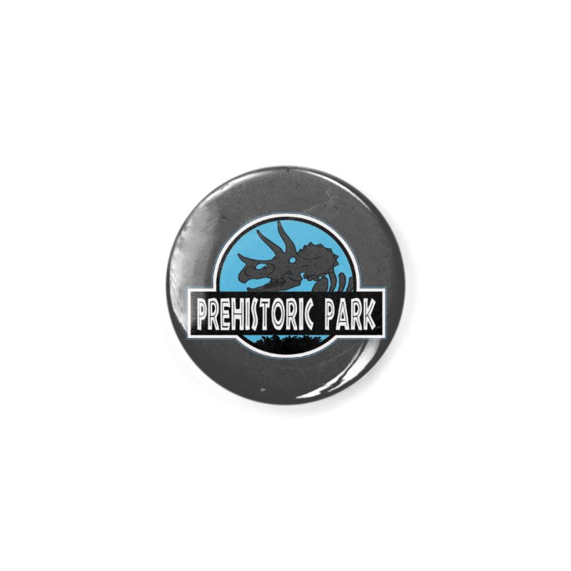 Prehistoric Park Accessories Button by Trapped Puzzle Rooms