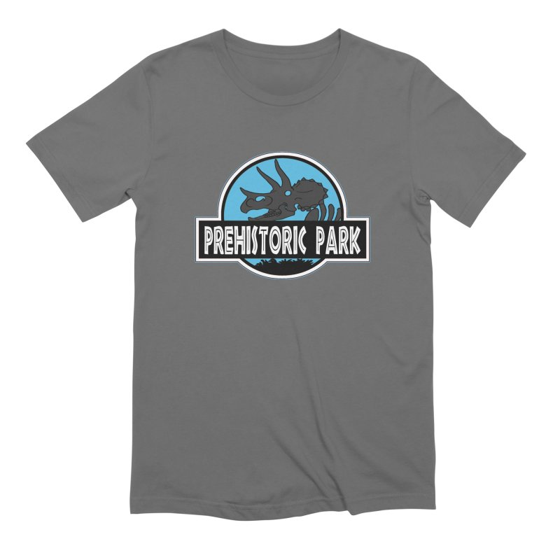 Prehistoric Park Men's T-Shirt by Trapped Puzzle Rooms