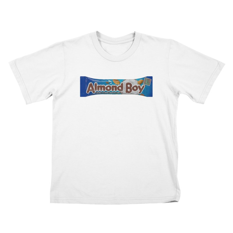 Almond Boy Kids T-Shirt by Trapped Puzzle Rooms