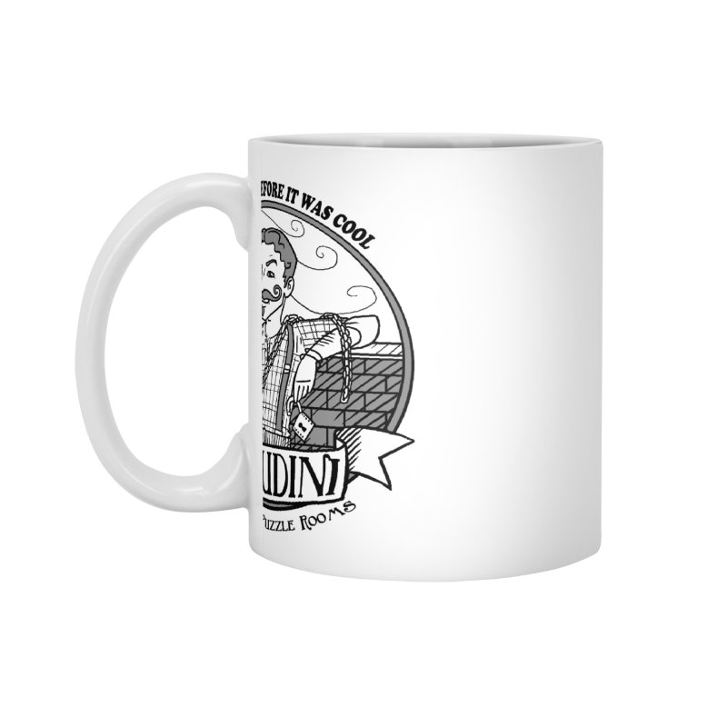 Houdini Hipster Accessories Mug by Trapped Puzzle Rooms