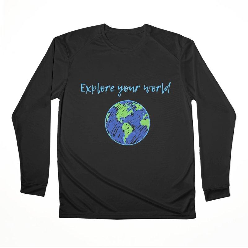 Explore your world Men's Longsleeve T-Shirt by TC's Locker