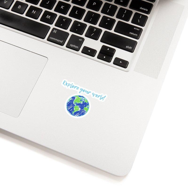 Explore your world Accessories Sticker by TC's Locker