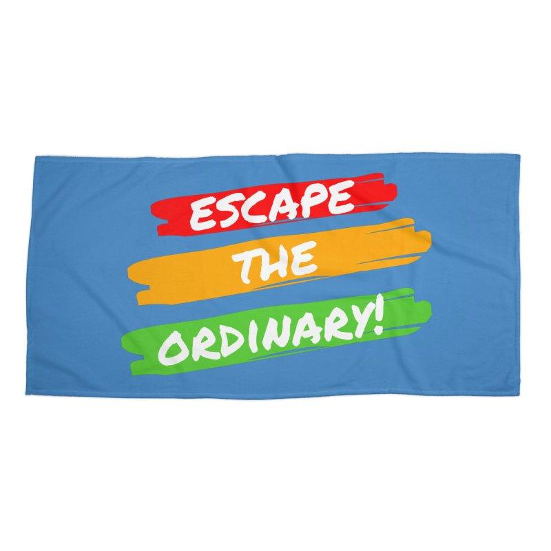 Escape the Ordinary Accessories Beach Towel by TC's Locker