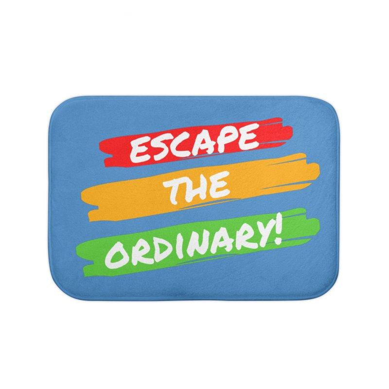 Escape the Ordinary Home Bath Mat by TC's Locker