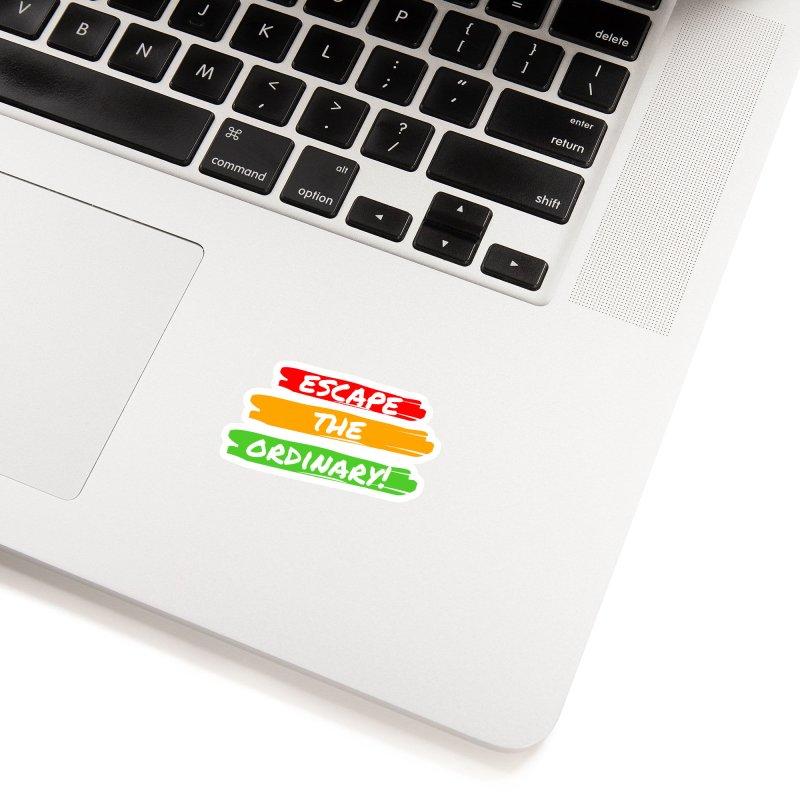Escape the Ordinary Accessories Sticker by TC's Locker