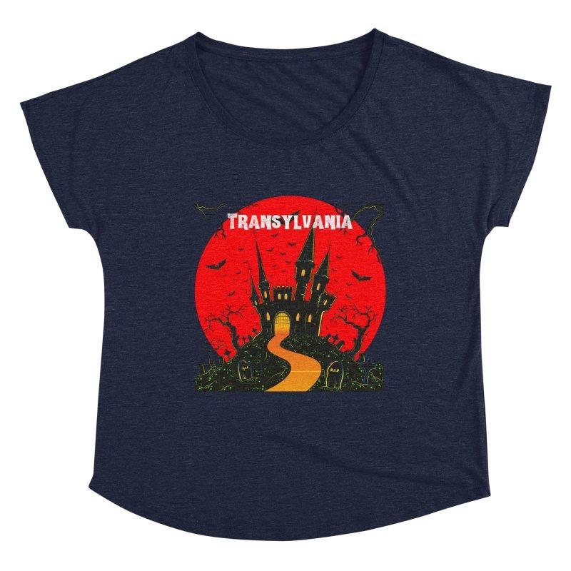 Castle Transylvania Women's Scoop Neck by TC's Locker
