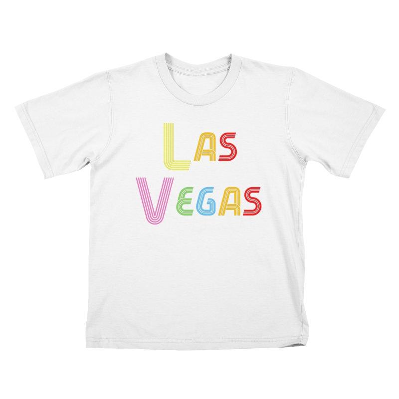 Las Vegas Kids T-Shirt by TC's Locker