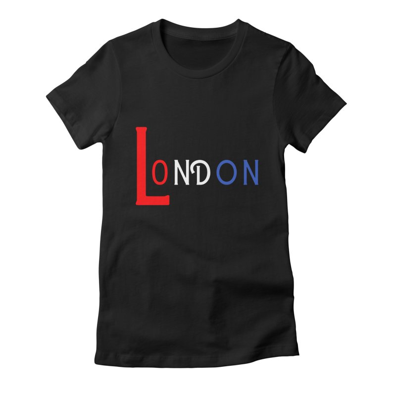 London Women's T-Shirt by TC's Locker