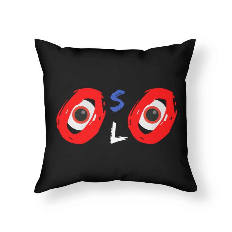 The City of Oslo Home Throw Pillow by TC's Locker