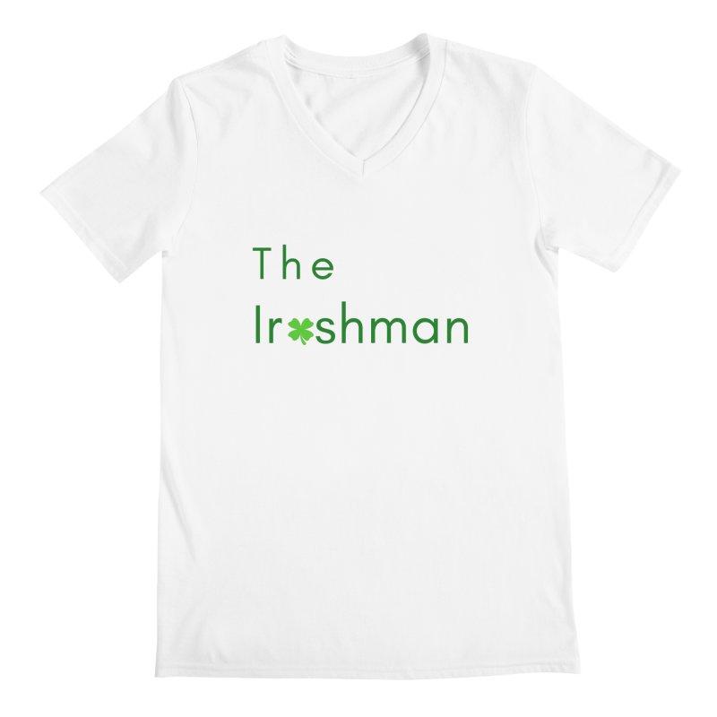 The Irishman Men's V-Neck by TC's Locker