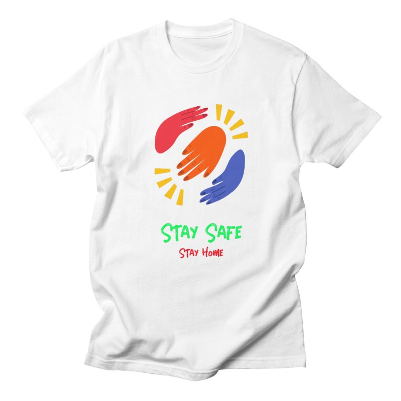 Stay Safe, Stay Home Men's T-Shirt by TC's Locker