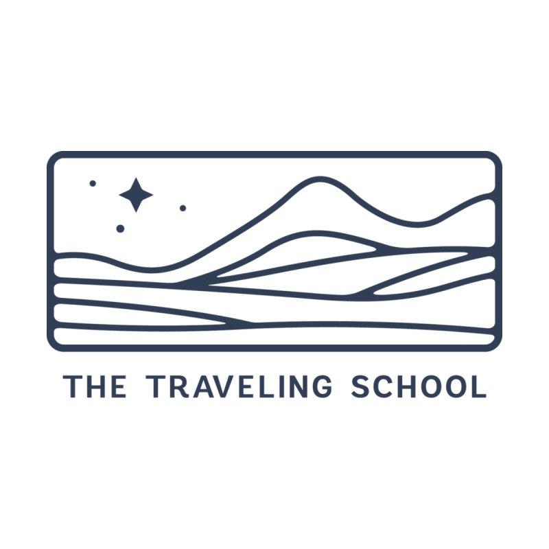 TTS Horizontal Logo Men's T-Shirt by The Traveling School Apparel Shop