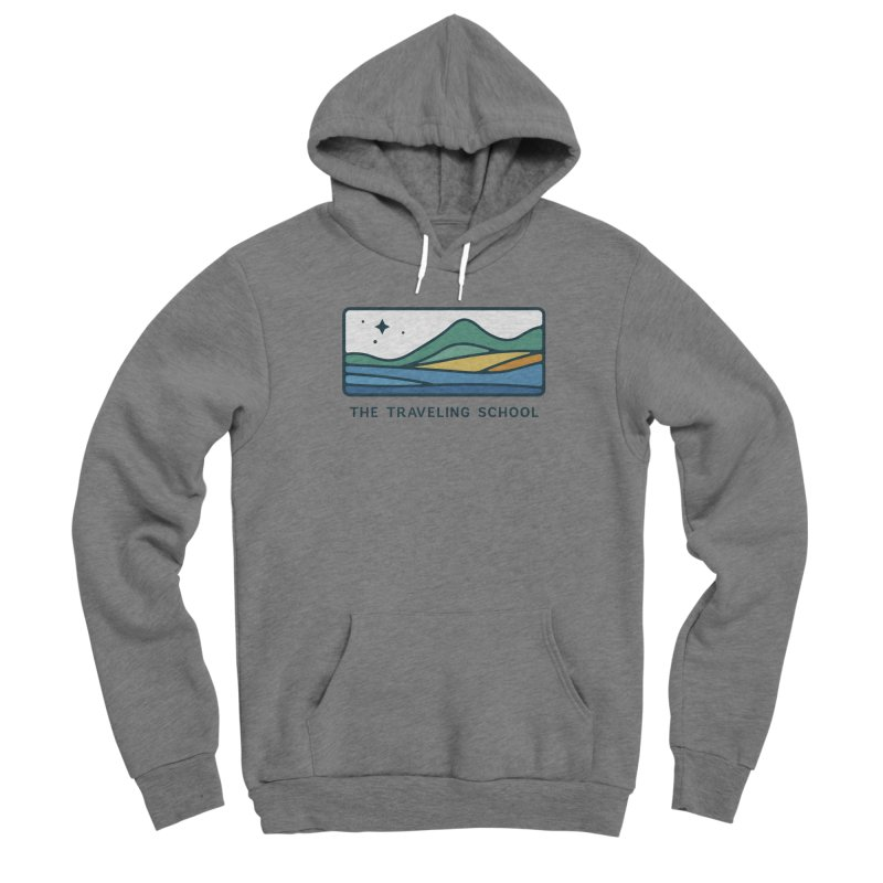 TTS Horizontal Color Logo Men's Pullover Hoody by The Traveling School Apparel Shop