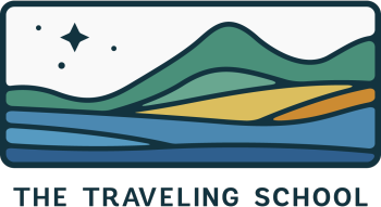 The Traveling School Apparel Shop Logo