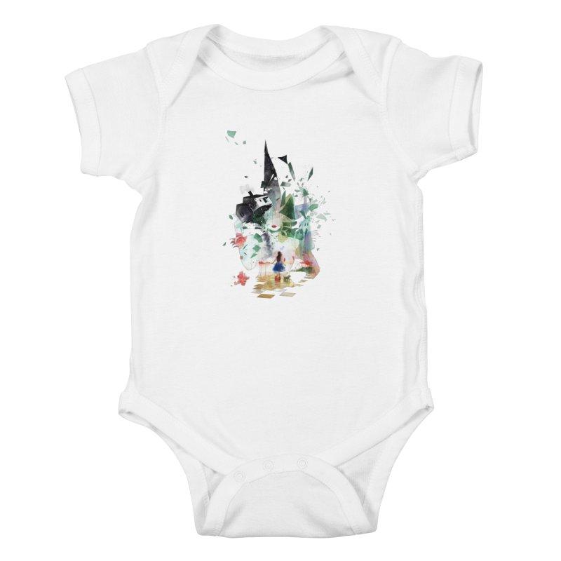 Not in Kansas Anymore Kids Baby Bodysuit by Travis Clarke's Artist Shop