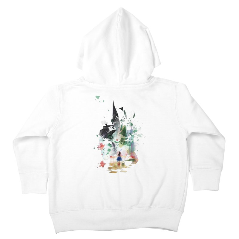 Not in Kansas Anymore Kids Toddler Zip-Up Hoody by Travis Clarke's Artist Shop