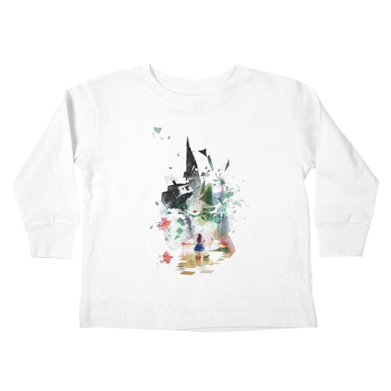 Not in Kansas Anymore Kids Toddler Longsleeve T-Shirt by Travis Clarke's Artist Shop