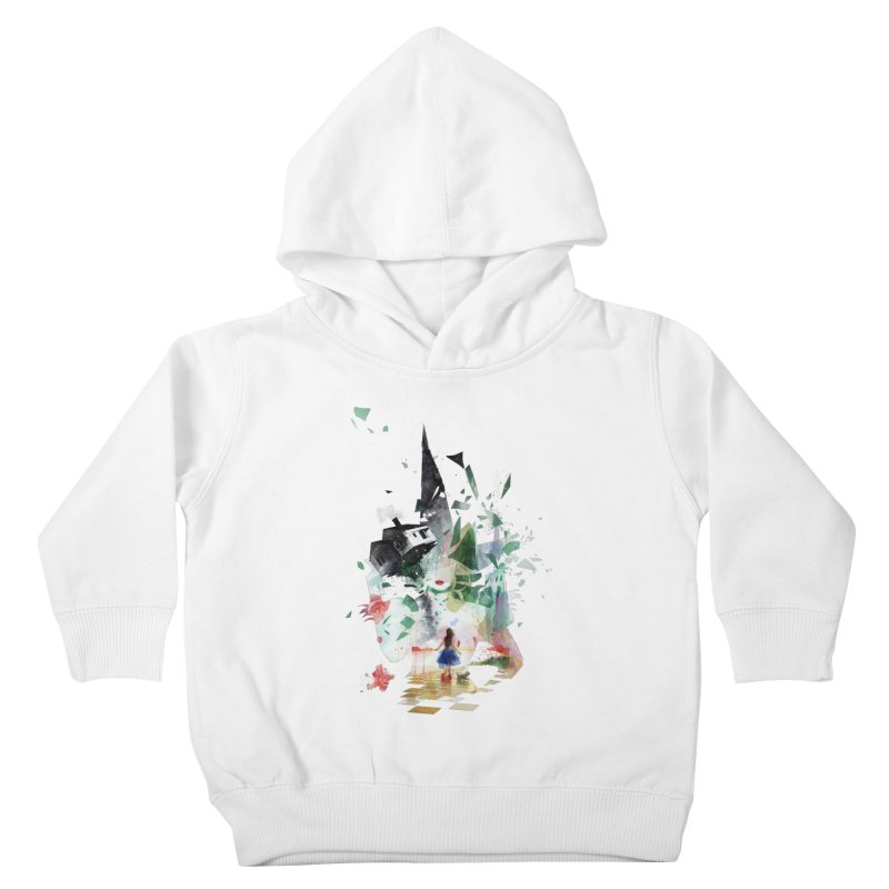 Not in Kansas Anymore Kids Toddler Pullover Hoody by Travis Clarke's Artist Shop
