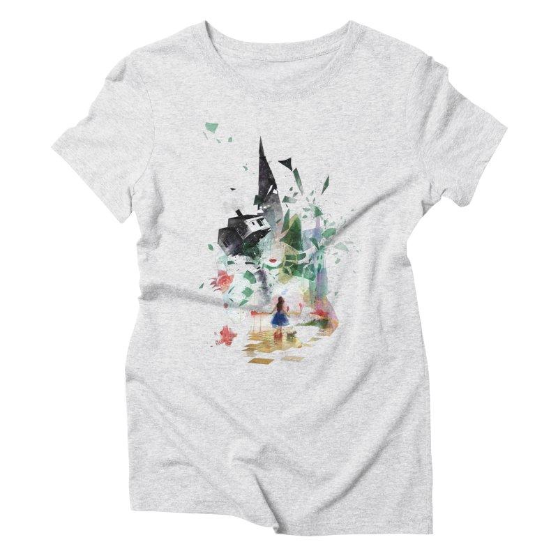 Not in Kansas Anymore Women's Triblend T-shirt by Travis Clarke's Artist Shop