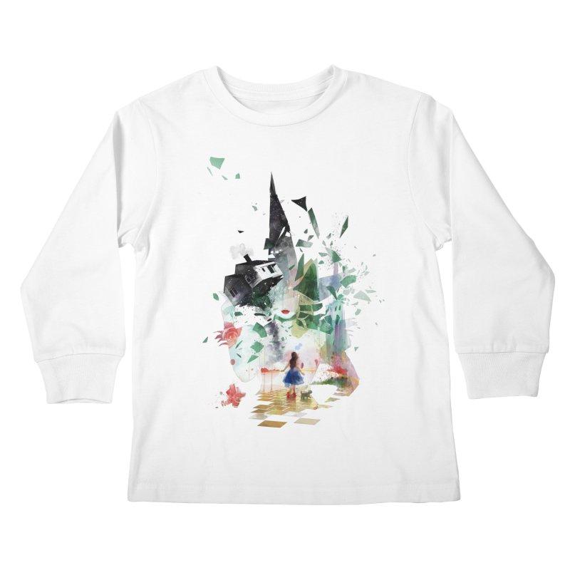 Not in Kansas Anymore Kids Longsleeve T-Shirt by Travis Clarke's Artist Shop
