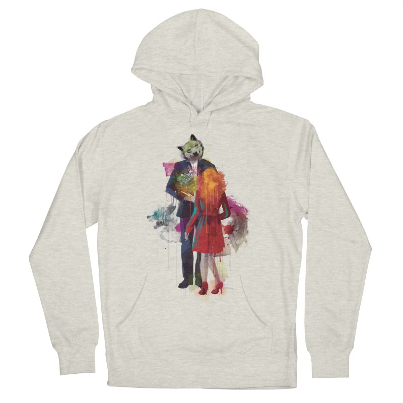 Red Riding, I Am Not Your Wolf Men's Pullover Hoody by Travis Clarke's Artist Shop