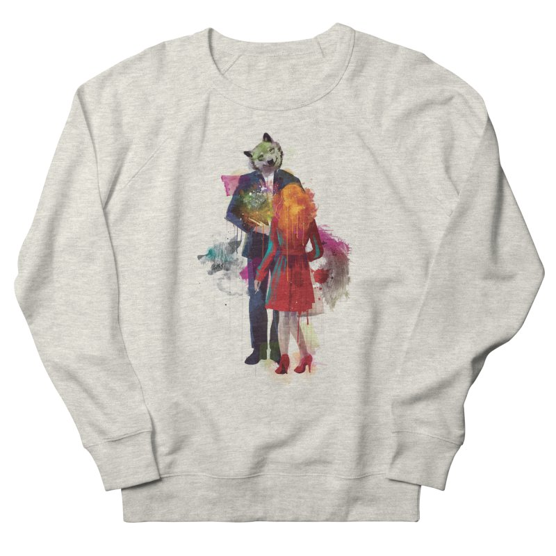 Red Riding, I Am Not Your Wolf Women's Sweatshirt by Travis Clarke's Artist Shop