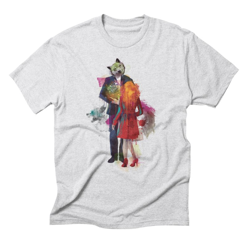 Red Riding, I Am Not Your Wolf Men's Triblend T-Shirt by Travis Clarke's Artist Shop