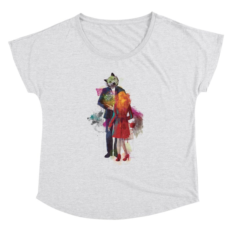 Red Riding, I Am Not Your Wolf Women's Dolman by Travis Clarke's Artist Shop