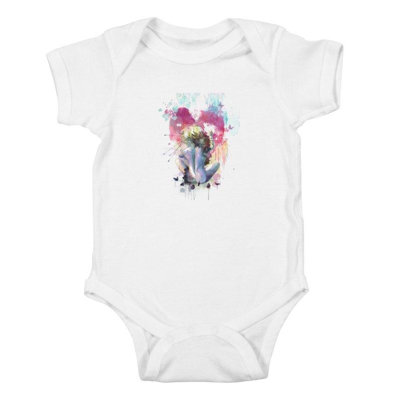 Conundrum Kids Baby Bodysuit by Travis Clarke's Artist Shop