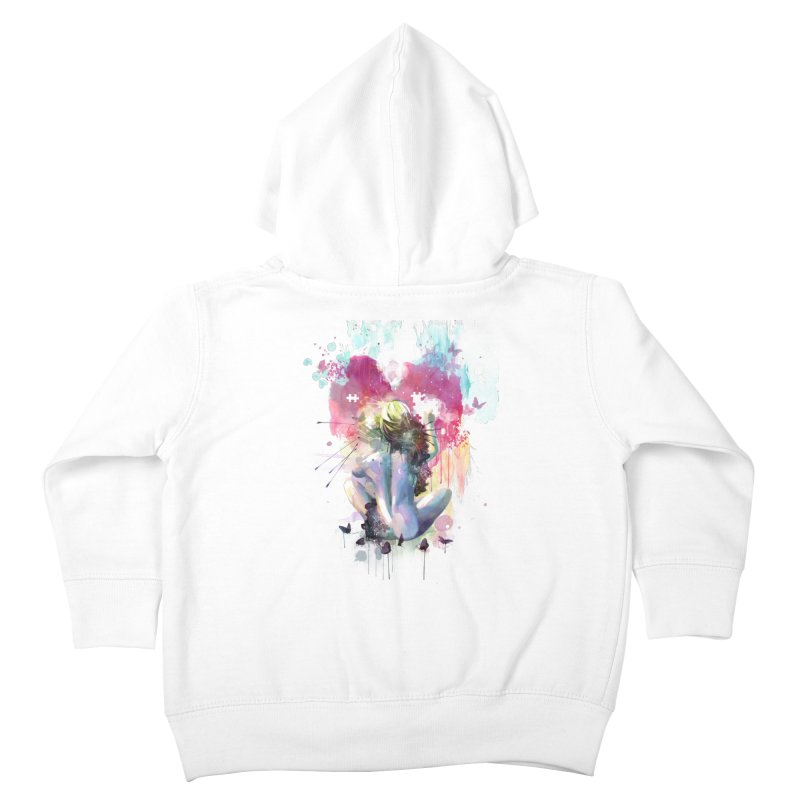 Conundrum Kids Toddler Zip-Up Hoody by Travis Clarke's Artist Shop