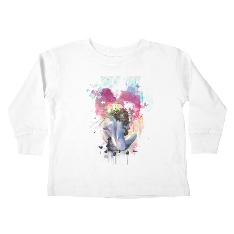 Conundrum Kids Toddler Longsleeve T-Shirt by Travis Clarke's Artist Shop