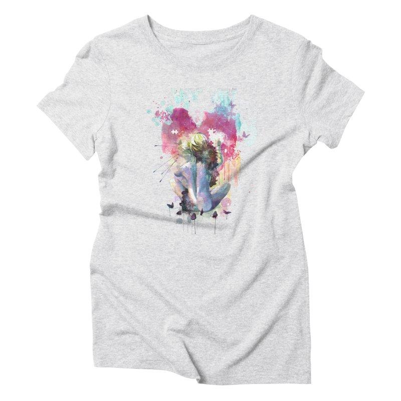 Conundrum Women's Triblend T-shirt by Travis Clarke's Artist Shop