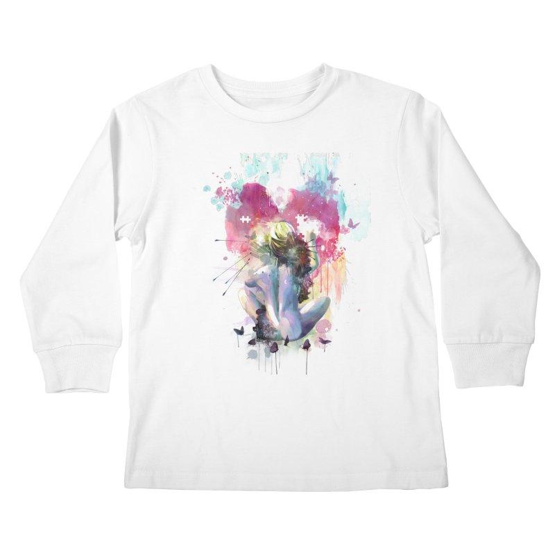 Conundrum Kids Longsleeve T-Shirt by Travis Clarke's Artist Shop
