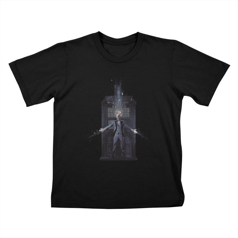 Regeneration Kids T-shirt by Travis Clarke's Artist Shop