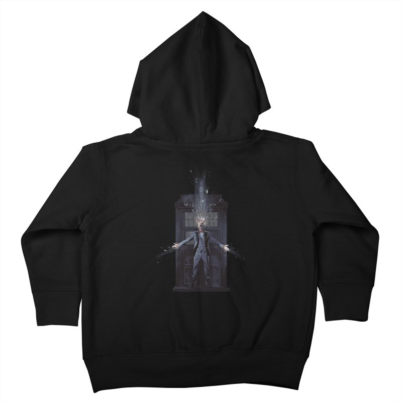 Regeneration Kids Toddler Zip-Up Hoody by Travis Clarke's Artist Shop
