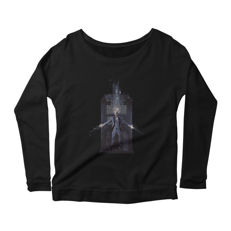 Regeneration Women's Longsleeve Scoopneck  by Travis Clarke's Artist Shop