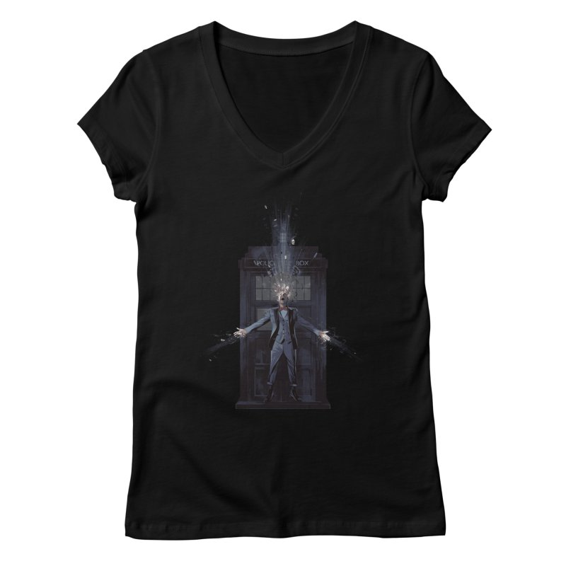 Regeneration Women's V-Neck by Travis Clarke's Artist Shop