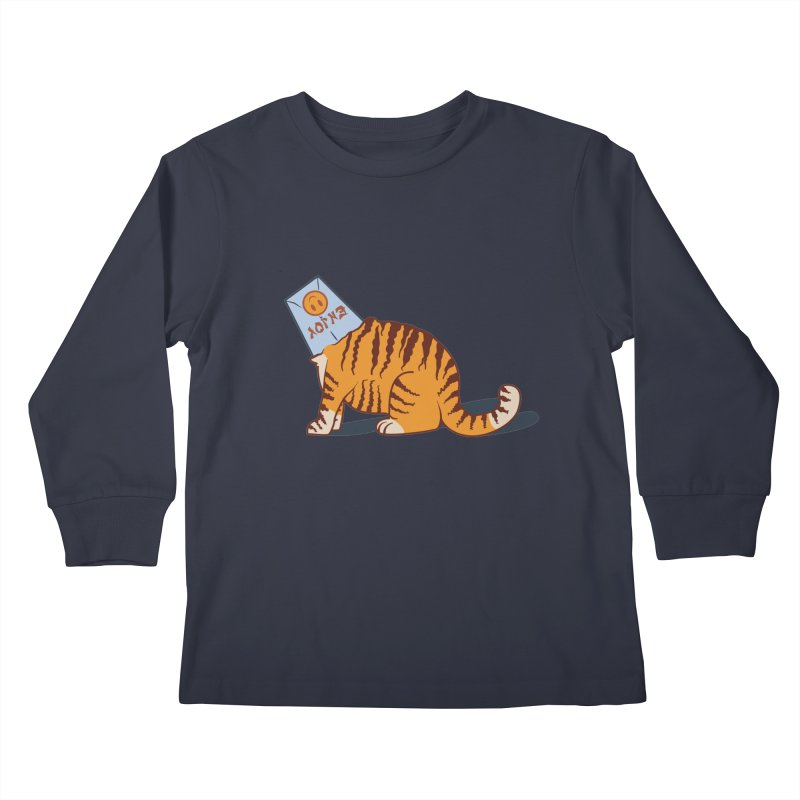Enjoy Kids Longsleeve T-Shirt by Travis Gore's Shop