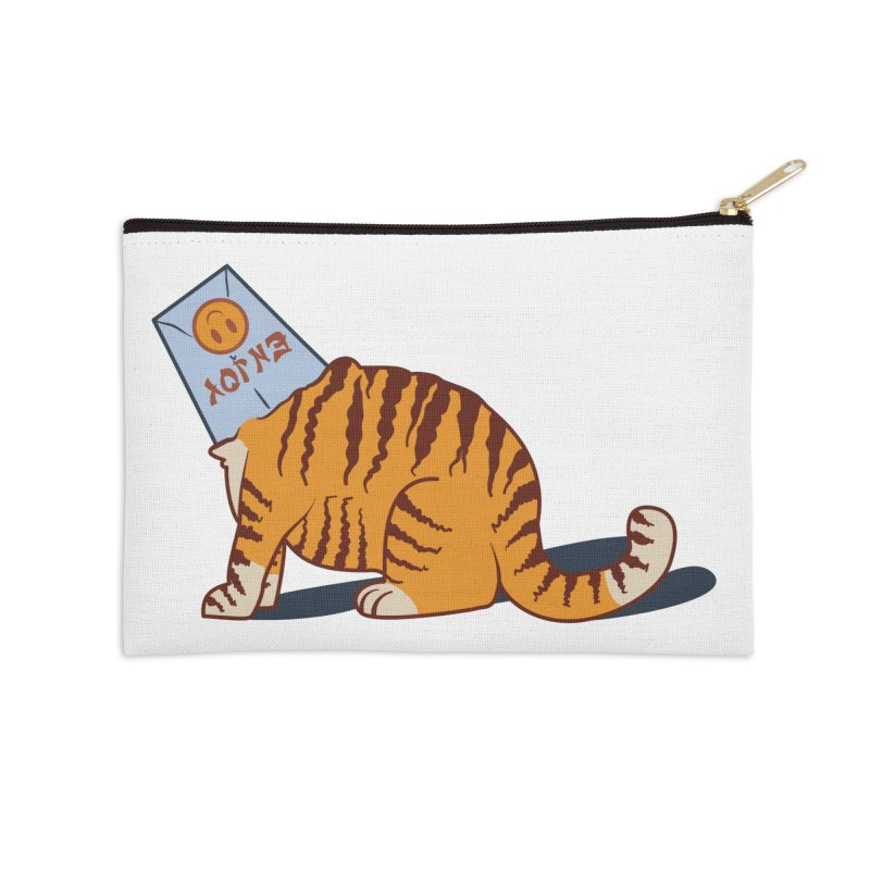Enjoy Accessories Zip Pouch by Travis Gore's Shop